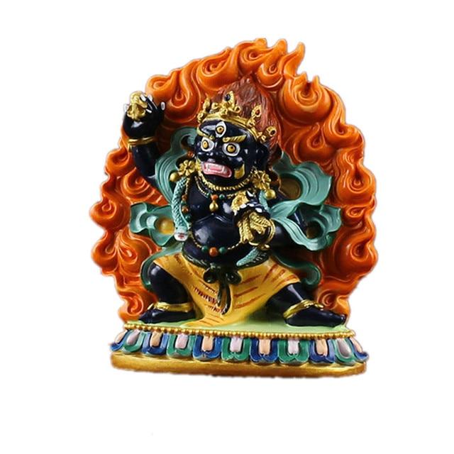 Vajrapani, King Dense Tracks Wead The Bodhisattva, Hand Painted, Small Statues of Yamantaka , Buddha Figurine R18