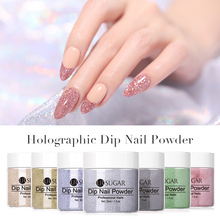 UR SUGAR Holographic Dip Nail Powder Laser Nail Glitter Natu