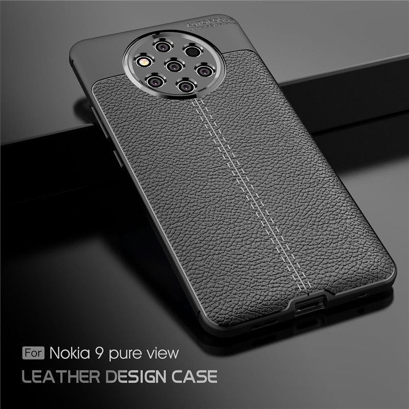 For Cover Nokia 9 Pure View Case Luxury Soft Rubber Phone Back Fundas ^
