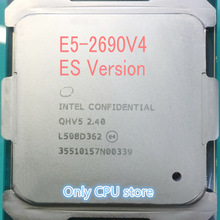 E5-2690V4 Original Intel Xeon E5 2690V4 QHV5 2.40GHZ 14-Core 35MB 135W free shipping