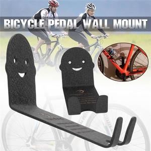 Image 3 - 100kg Capacity Bike Wall Mount Bicycle Stand Holder Mountain Bike Rack Stands Steel Hanger Hook Storage Bicycle Accessories