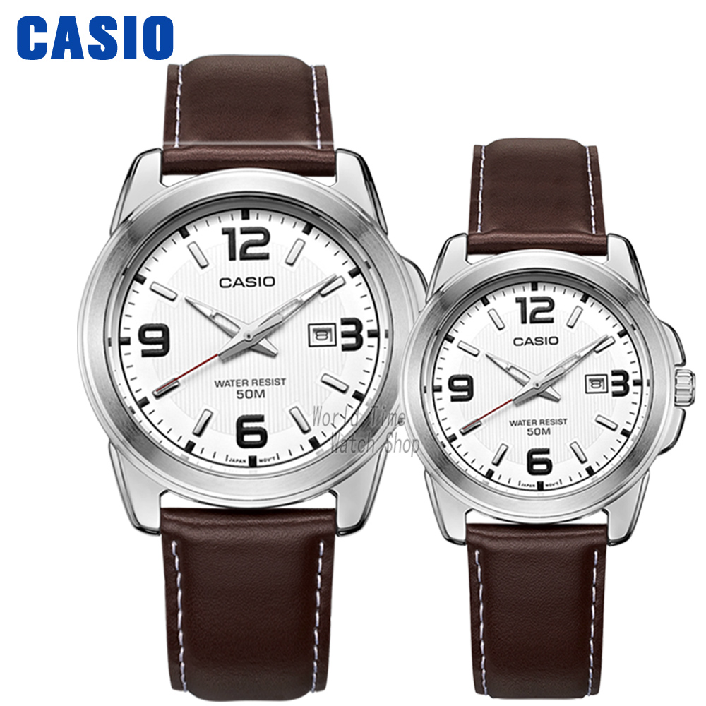 Casio watch Leisure and waterproof quartz couple table MTP-1314L-7A LTP-1314L-7A casio watch fashion casual quartz needle steel watch ltp 1359rg 7a ltp 1359sg 7a