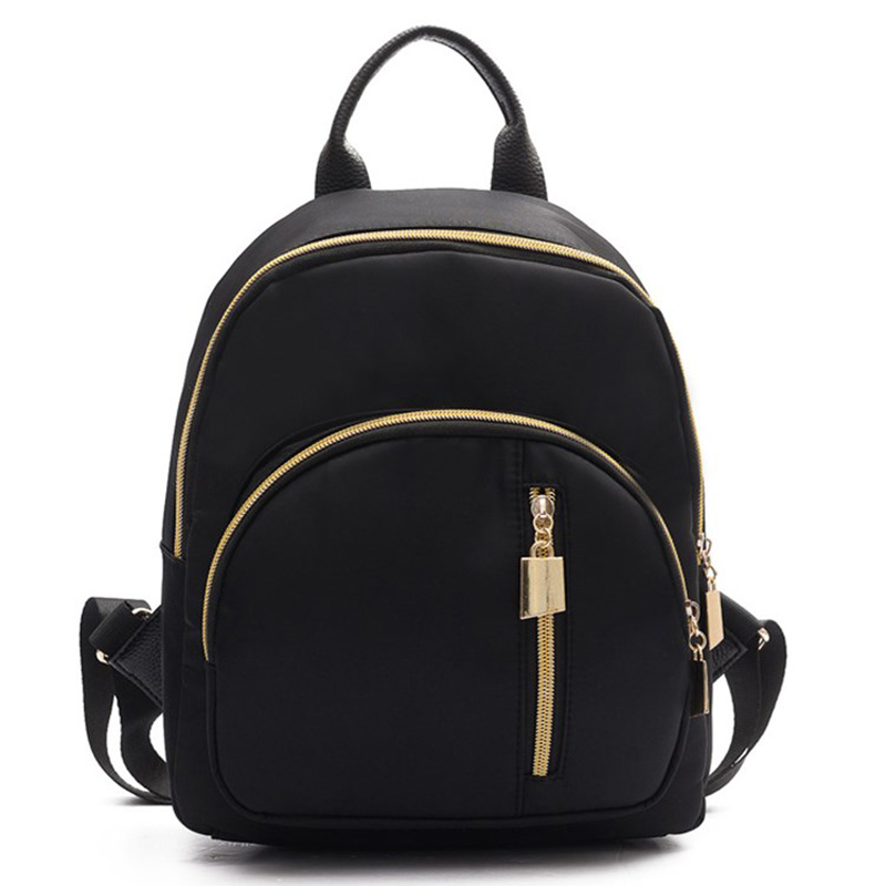 New Summer Preppy Style Oxford Backpack 2017 Fashion Waterproof Shoulder Bags Simple Pure Color Travel Backpacks