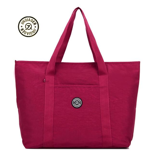 2018 novo saco de nylon duffle saco de viagem mulheres viajar sacos mala de bagagem de mão bolsa de viagem bolsas das mulheres fim de semana sacos