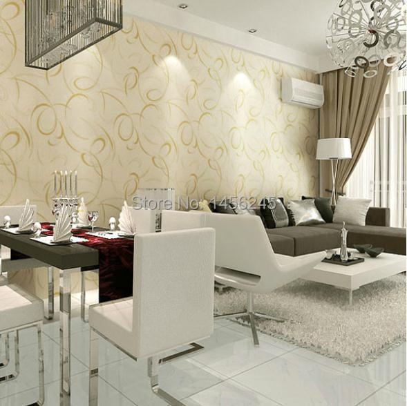 design of atmospheric living room tv background wall   Pvc wallpaper modern design background wallpaper tv ...