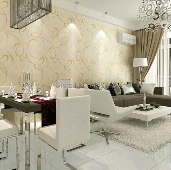 Pvc Wallpaper Modern Design Background Tv Wall Paper Special Living Room Dining Bedroom Backdrop WP228