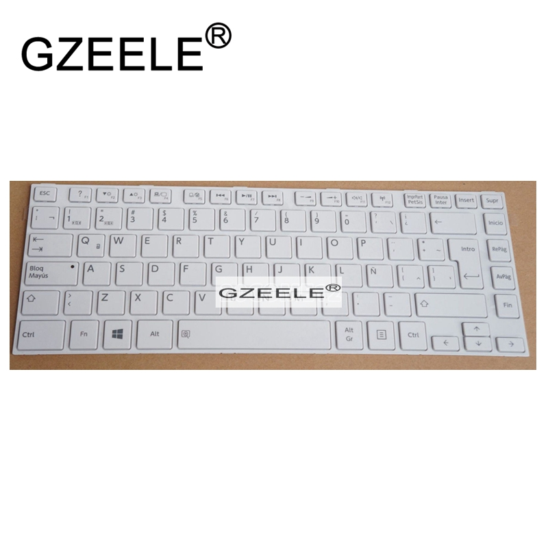 GZEELE NEW SP For Toshiba Satellite L40-A L40-SP L40D-A L40DT-A L45-A L45D-A L45T-A Keyboard Spanish Teclado Laptop / Notebook