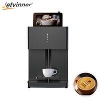 Jetviner Inkjet Coffee Printer Food Print Machine For DIY with Tablet for cake cookies bread yogurt ice cream candy