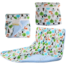 Baby Blankets 2017 New Thicken Double Layer Fleece Infant Swaddle Bebe Envelope Stroller Wrap For Newborns
