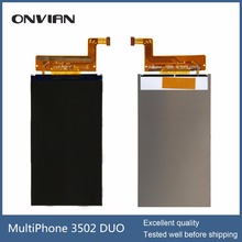 Lcd display for Prestigio MultiPhone PSP3502 DUO lcd screen digitizer for MultiPhone 3502 DUO