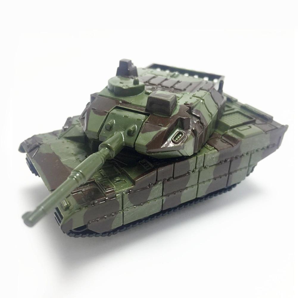 Girado para Crianças Modelo de Tanque de Guerra de Brinquedo de Plástico Crianças Soldados Do Exército Militar Veículos Canhão Mini Coleção Presentes Educacionais