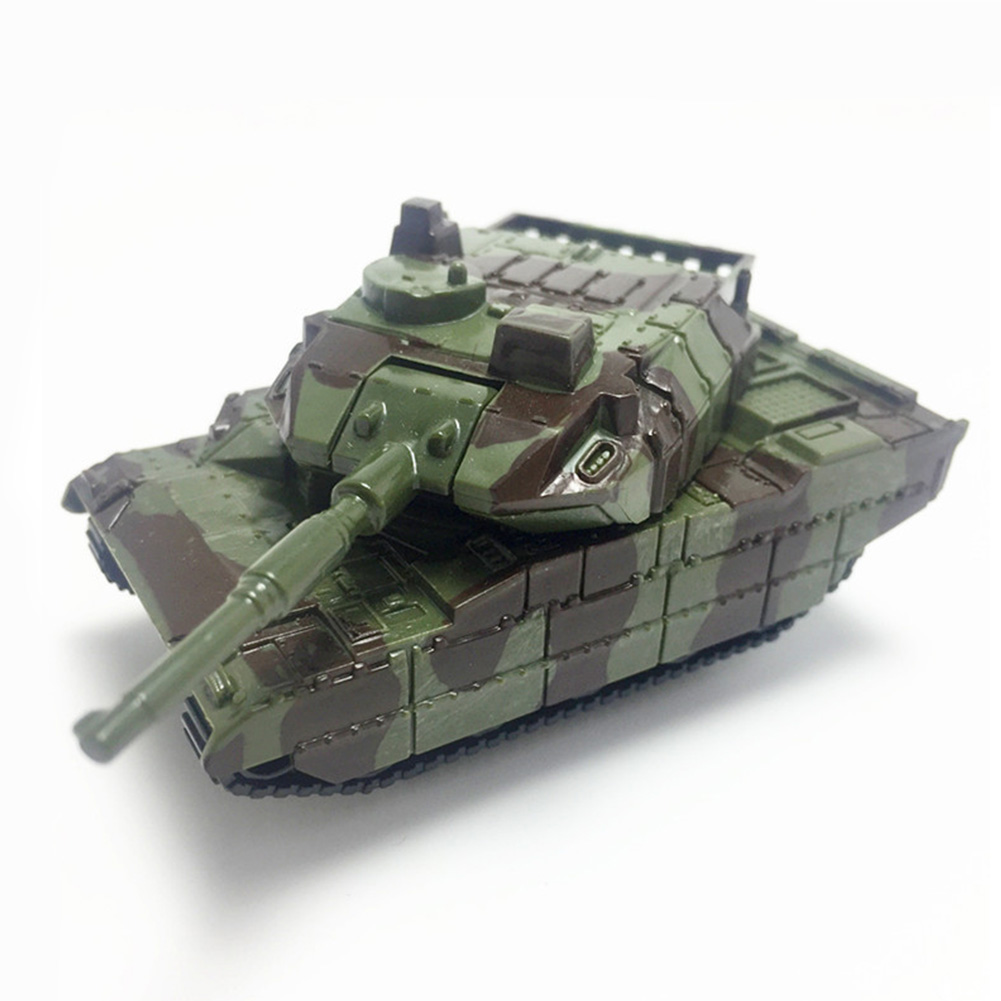 Rotated Children Army Tank Toy War Plastic Model Kids Soldiers Military Vehicles Cannon Mini Gifts Collection Educational