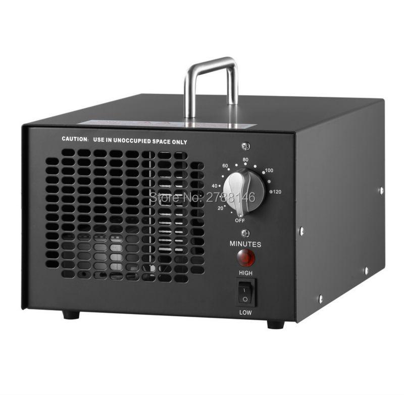 HIHAP 7G ozongenerator luchtreiniger (zwart)