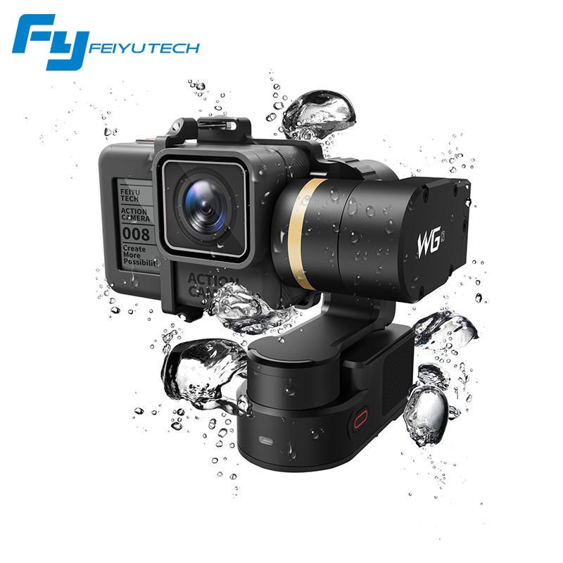 FeiyuTech Feiyu WG2 Tragbare Montierbar 3-achsen Wasserdichte Gimbal Stabilizer für Gopro 6 4 5 sitzung YI 4 Karat SJCAM AEE Action kamera