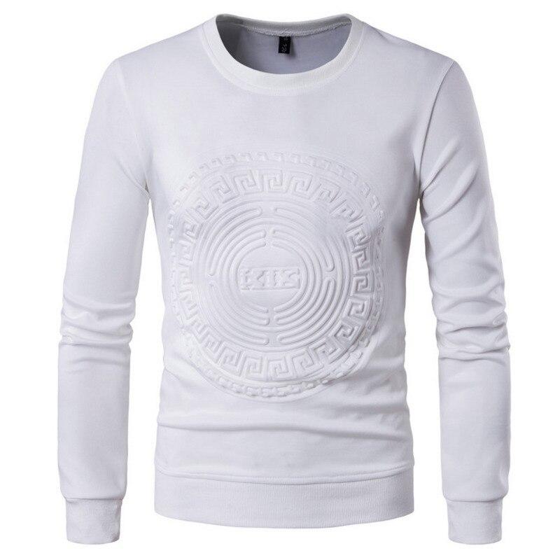 Spring Men's Fashion tshirts Slim Long Sleeved T-shirt mens clothing t shirts