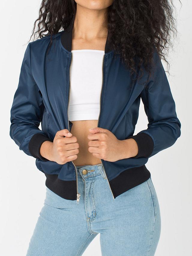 Navy blue womens bomber jacket – Your jacket photo blog