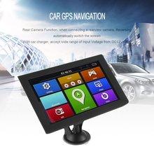 """9 """"S900 Camion Dell'automobile HD di Navigazione GPS 256 m + 8 gb Telecamera di retromarcia Touchscreen FM Navigatore Posizione Con Precisione nero"""