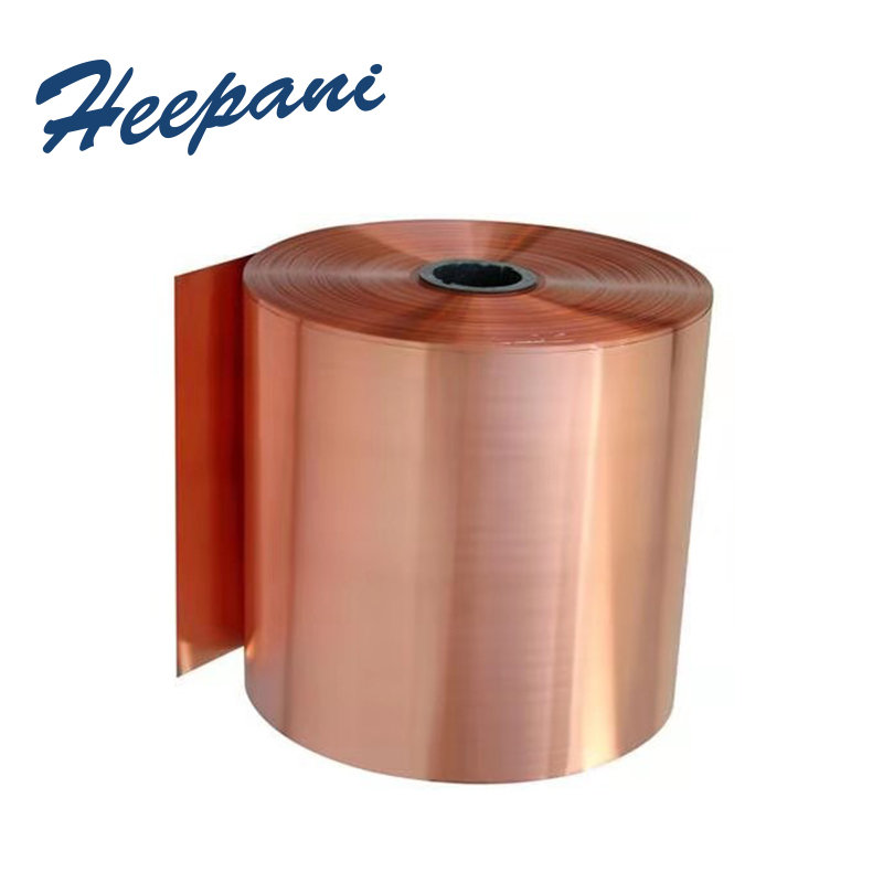 Free Shipping Copper Strip With 0.01mm - 0.08mm Cu Metal Sheet / Red Copper Coil