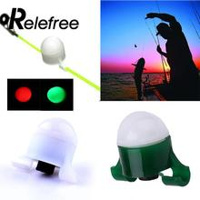 Relefree 2 в 1 ночной мигающий светодиодный сигнальный светильник для наружной рыбалки высокого качества светодиодный электронный сигнализатор укуса рыбы
