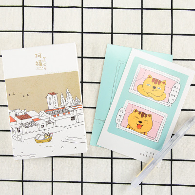 30Sheets/Set Lovely Cat Postcard /Greeting Card/Message Card/Christmas And New Year Gifts