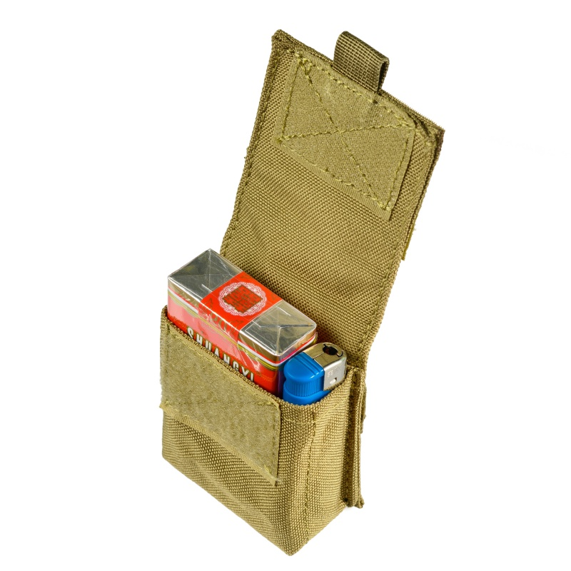 Military <font><b>Molle</b></font> Pouch <font><b>Tactical</b></font> Single Pistol Magazine Pouch Sheath Airsoft Hunting Ammo Camo Bag image
