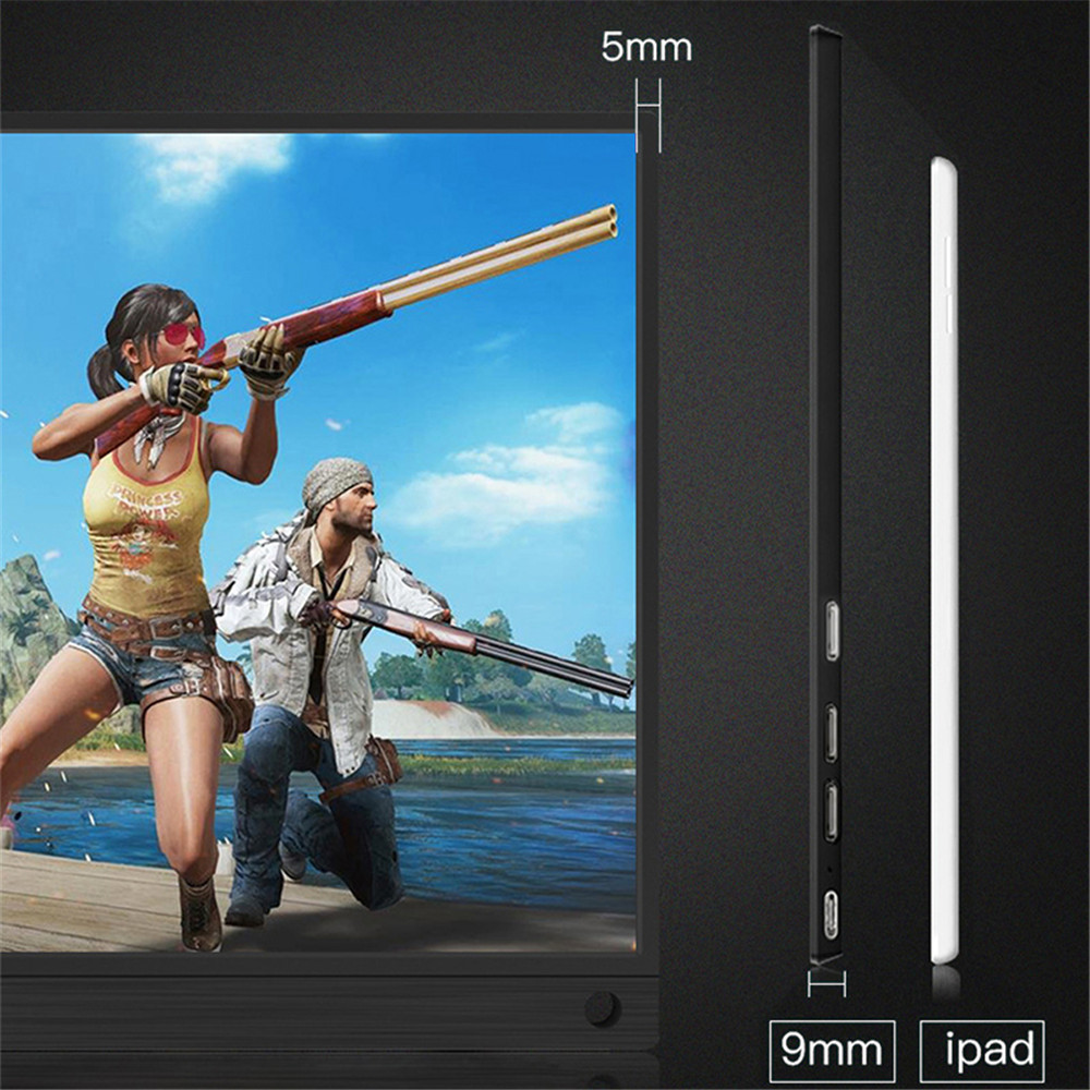 Image 4 - 15.6 inch Gaming LCD Monitor Touch Screen Portable 4K 1080P IPS HD USB Type C for laptop Samsung phone XBOX Switch PS4-in LCD Monitors from Computer & Office