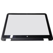 15.6 inch Front Touch Screen Digitizer Glass Replacement with Frame & Touch control board For