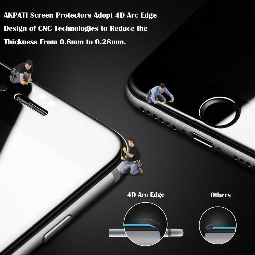 5D Curved edge Full Cover Protector de pantalla de vidrio templado - Accesorios y repuestos para celulares - foto 2
