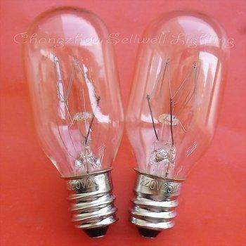 Free Shipping New!miniature Lamp Bulb 220v 25w E12 T22x55 A658