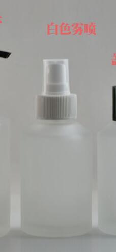 125 ml ronde doorzichtige frosted reis navulbare parfumfles met - Huidverzorgingstools - Foto 3