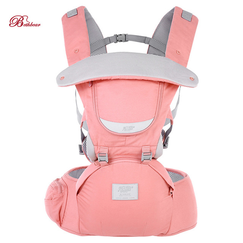 2018 New Bethbear 0-36 Months Baby Carrier 3 In 1 Adjustable Hip Seat Newborn Waist Stool Baby Carrier Infant Sling Backpack