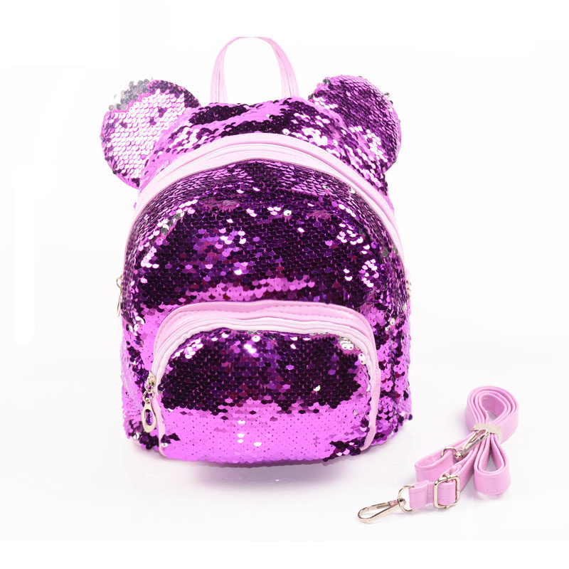 Sequins Backpacks Teenager Girls PU mochila Bling Backpack mochila glitter Girls Travel Shoulder Bags School Bag sequin backpack women sequins backpack female fashion bling bling children backpacks mini bags ladies casual shoulder bags for teenager girls