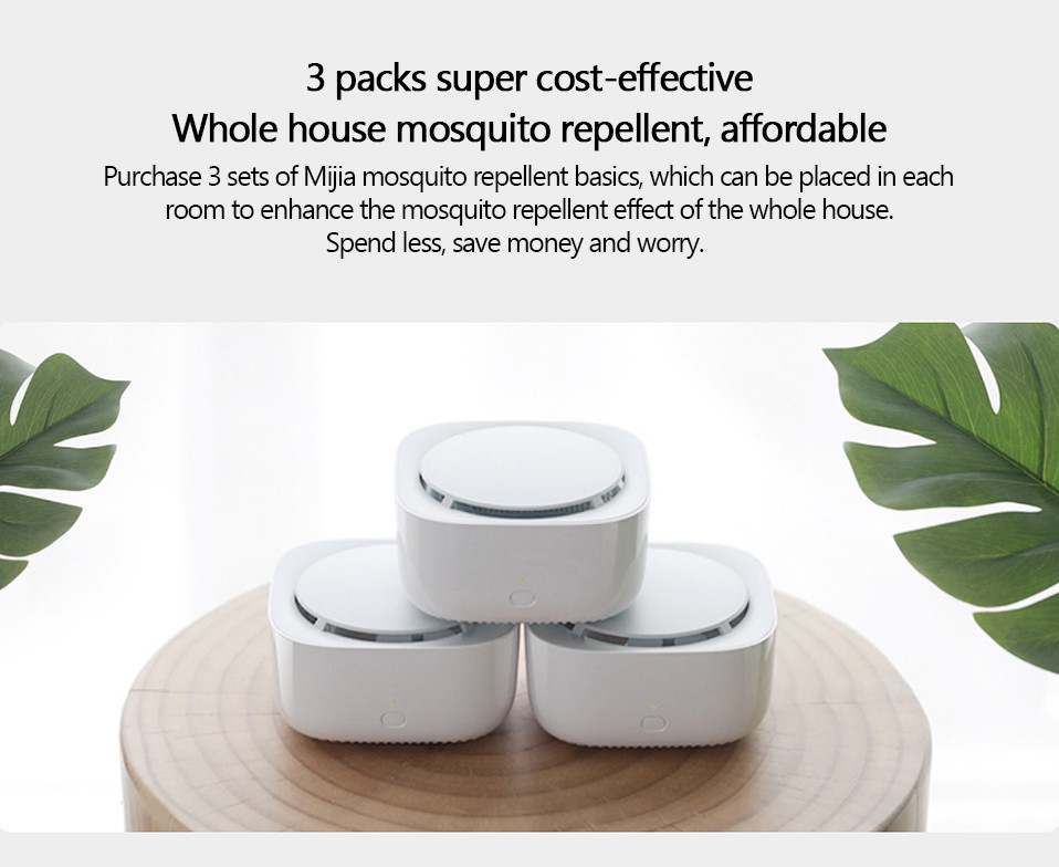 2019 New Xiaomi Mijia Mosquito Repellent Killer Smart Version Phone timer switch with LED light use 90 days Work in mihome AP (17)