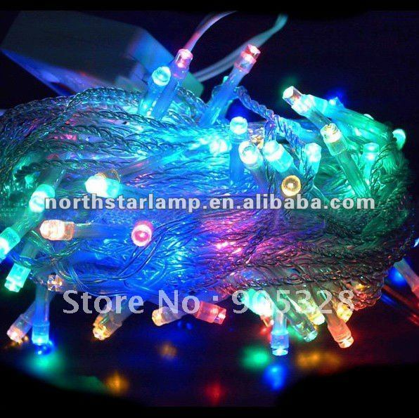 Free Holiday sale 10M=100L LED String Decoration Light curtain lights for weddings LED String Fairy Lights