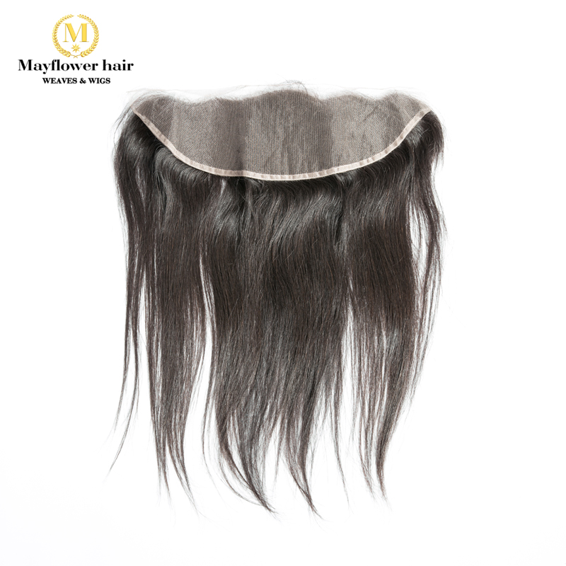 MFH Raw Indian Straight Virgin Hair Frontal 13x4