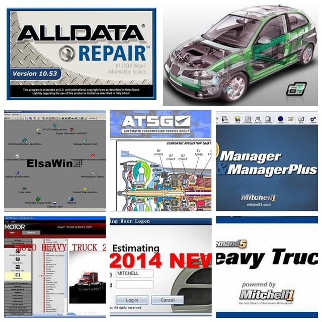 Alldata V10 53 1tb High Quality Hdd 2019 Software Mitchell Ondemand