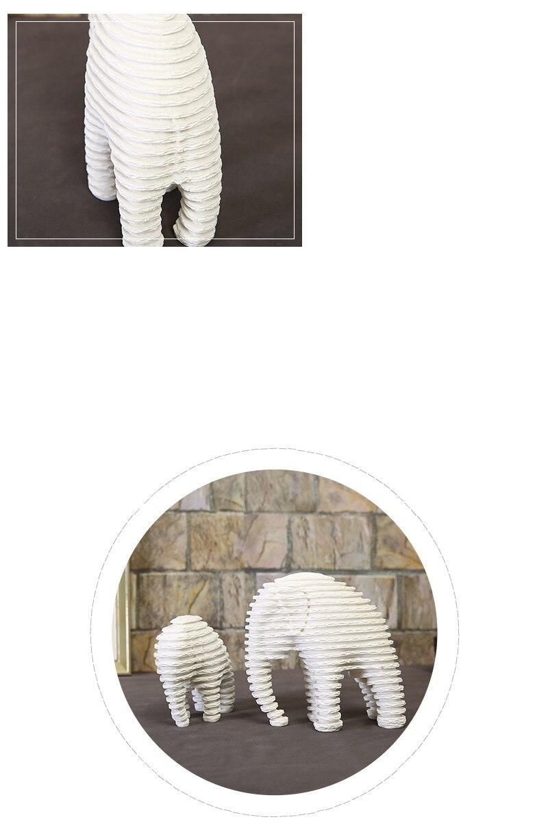 Elephant Figurines (4)