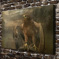 C X84 Owl Bird Tree Animals Natural Scenery HD Canvas Print Home Decoration Living Room Bedroom