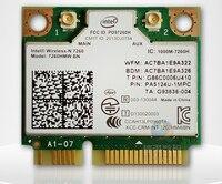 SSEAใหม่ไร้สายบลูทูธ4.0การ์ดเครือข่ายสำหรับIntel wireless-N 7260 BN 72607260HMWครึ่งMINI PCI-E 802.11b/g/nบัตรสำหรับA CER/A SUS