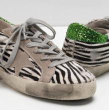 BBK INS Enfants Casual Chaussures De Mode Garçons Filles Sport Chaussures en cuir véritable confortable sneakers crin de cheval de mode