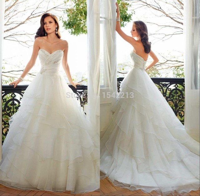 Big Discount Modest Sweetheart Ivory White Vintage Lace Princess Wedding Dress Plus Size Bridal Ball
