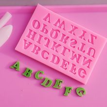 Best DIY Silicone Letter Cake Mould Mat Fondant Sugar Craft Mold Decorating Tool Cake decorating Tools Gum paste Mold
