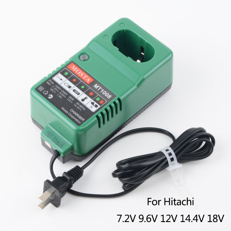 MOSTA Boutique Battery Charger Replacement For Hitachi UC18YG 7.2V 9.6V 12V 14.4V 18V NI-MH NI-CD,High-quality!