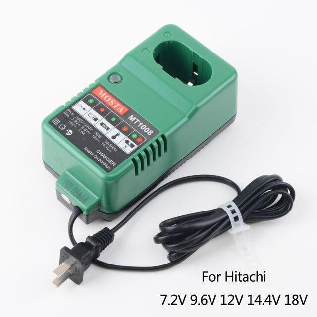 Сменное зарядное устройство MOSTA Boutique для Hitachi UC18YG, высокое качество, 7,2 В, 9,6 В, 12 В, 14,4 В, 18 в, Ni MH, для никель металлогидридных и никель металлогидридных аккумуляторов, для замены!