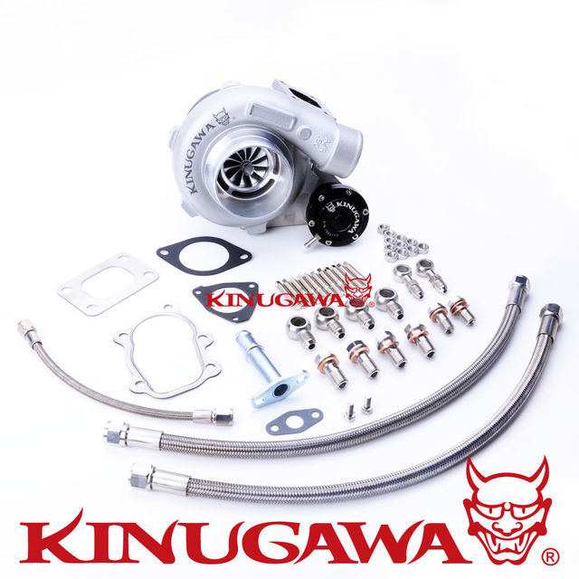 "Kinugawa Rolamento De Esferas Turbo 3 ""GTX2863R para NISSAN S14 S15 T25 AR.64"