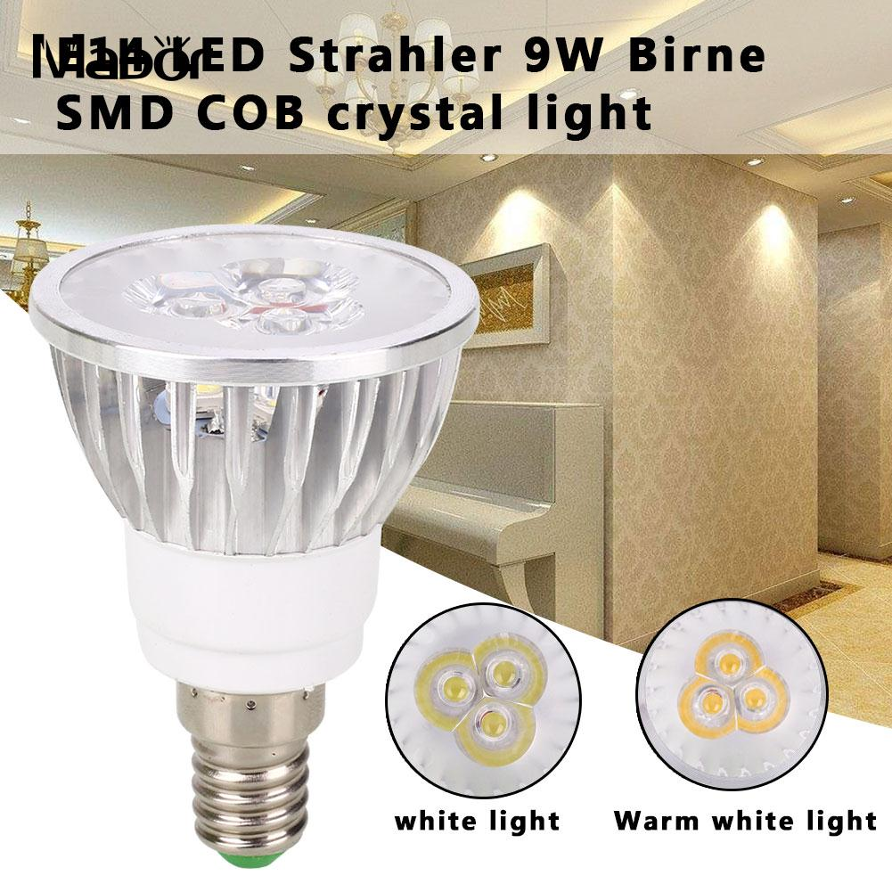 Spotlight Bulb Long Life Party Supply E14 Lighting Fixture 120-300lm 220V 9W Indoor Outdoor LED Bulb Household Accessory