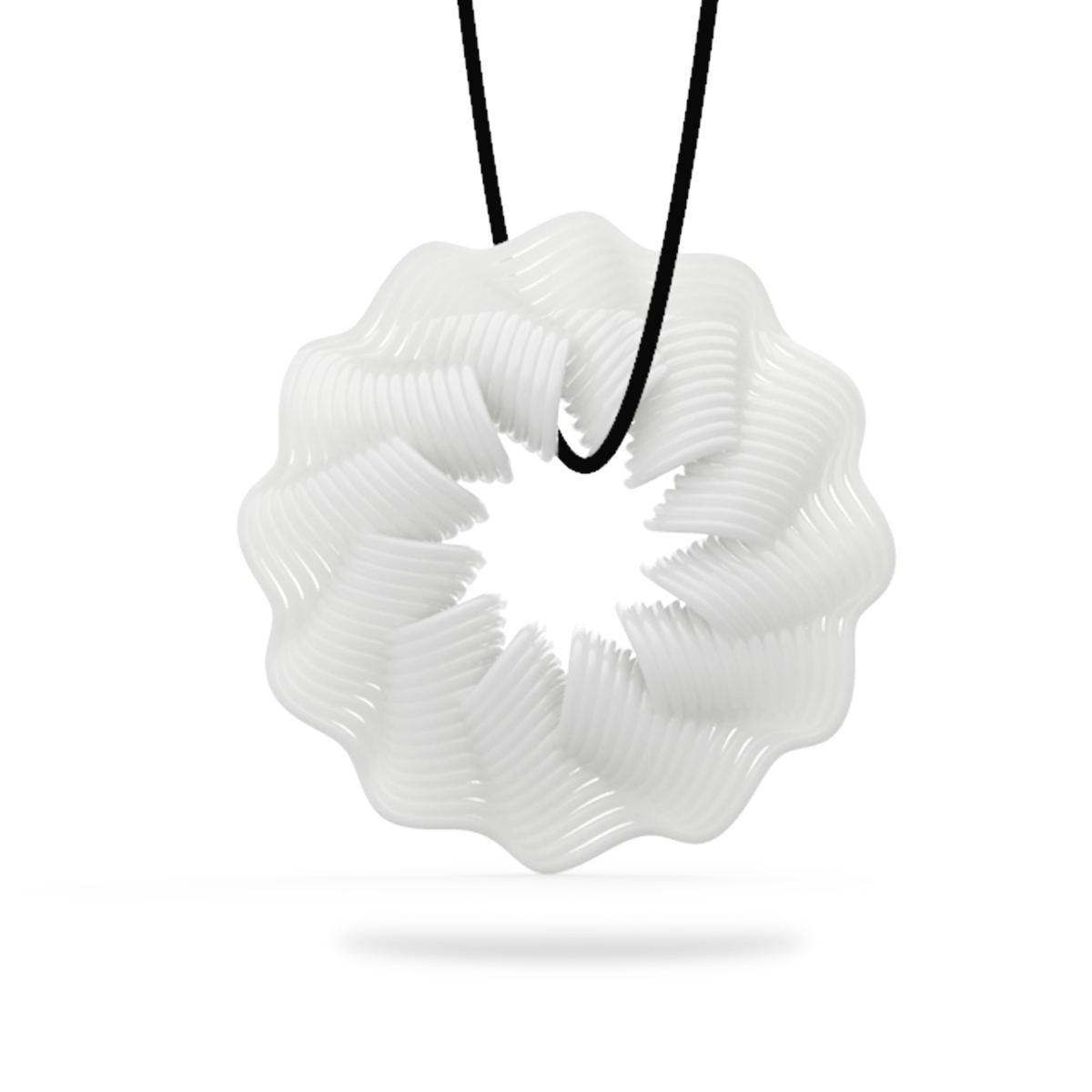 Tooarts Tomfeel 3D-tryckta smycken Rhythm Elegant Modeling Hänge - Heminredning - Foto 2