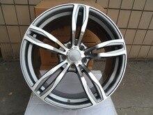 20 polegada rodas jantes Gunmetal Machined Rosto Serve Para BMW W731