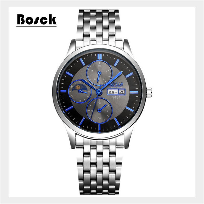 Men Fashion Casual Quartz Wristwatches Digital Dual Time Sports Watches Chronograph Waterproof Relogio Masculino 2017 new top fashion time limited relogio masculino mans watches sale sport watch blacl waterproof case quartz man wristwatches