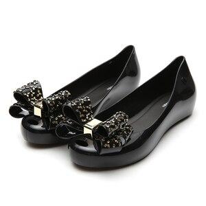 Image 4 - MELISSA รองเท้าผู้หญิง Jelly รองเท้าแตะฤดูร้อนผู้หญิงรองเท้าแตะ MELISSA หญิงรองเท้าลื่นผู้หญิงรองเท้าแตะขนาด 35 39